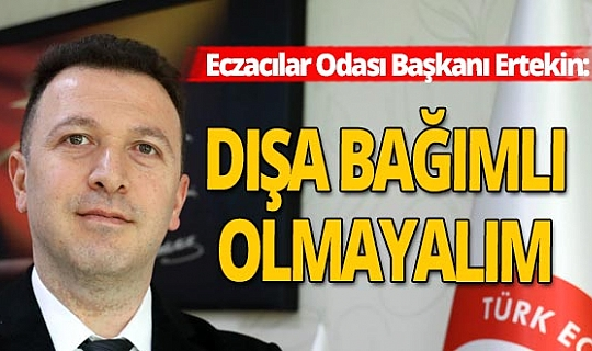 Antalya haber: Eczacılar Odasından ilaç açıklaması