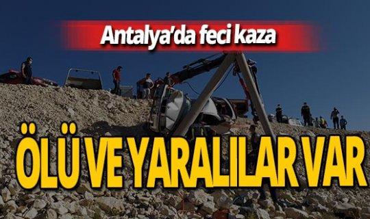 Antalya haber: Feci kaza! Ölü ve yaralılar var