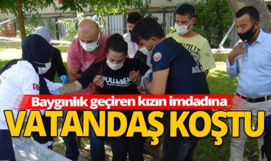 Antalya haber: Genç kız Irmak kenarında bayıldı