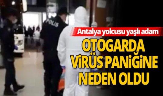 Antalya haber: Isparta Otogarı'nda büyük panik