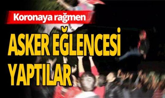 Antalya haber: Koronaya inat maskesiz mesafesiz asker eğlencesi