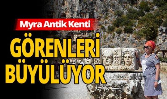 Antalya haber: Myra Antik Kenti fotoğraf stüdyosu gibi