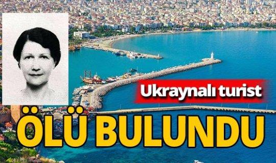 Antalya haber: Otel odasında ölü bulundu