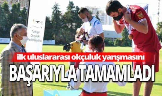 Antalya haber: Pandemi döneminde ilk uluslararası okçuluk yarışmasını başarıyla tamamladı