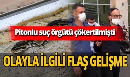 Antalya haber: Pitonla korkutarak senet imzalatmışlardı! Flaş gelişme