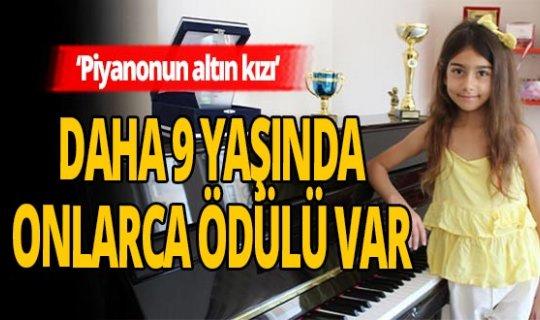 Antalya haber: 'Piyanonun Altın Kızı' Nil başarıya doymuyor