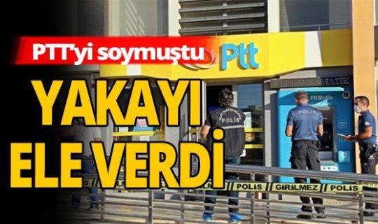 Antalya haber: PTT gaspçısı yakayı ele verdi