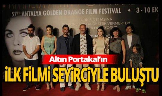Antalya haber: Yıldızların Altında 1 Açıkhava Sineması'nda ilk film seyirciyle buluştu