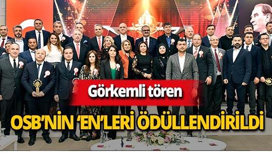 Antalya OSB'nin gurur gecesi
