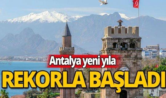 Antalya rekorlara doymuyor!
