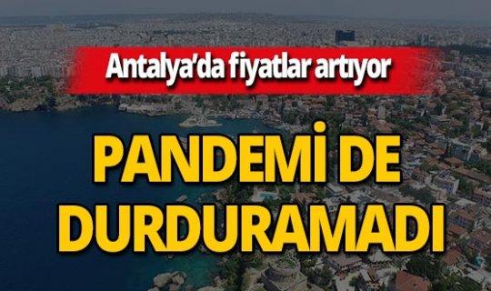 Antalya'da ev fiyatları ile kiralarda artış yaşanıyor