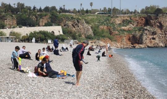 Antalya'da sezon erken başladı