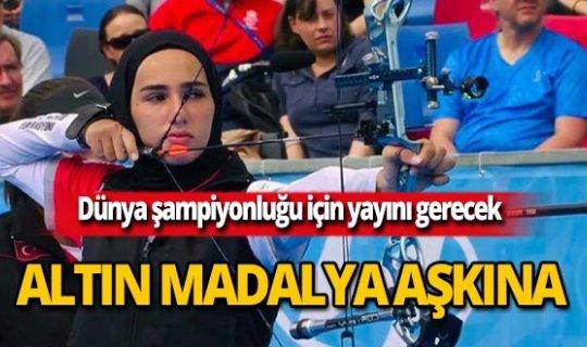 Antalyalı okçu dünya şampiyonluğu için yarışacak!