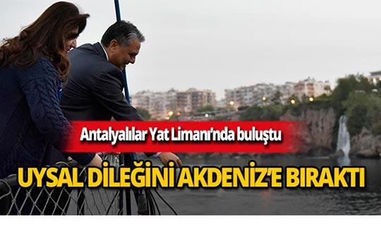 Antalyalılar Kaleiçi Yat Limanı'nda buluştu