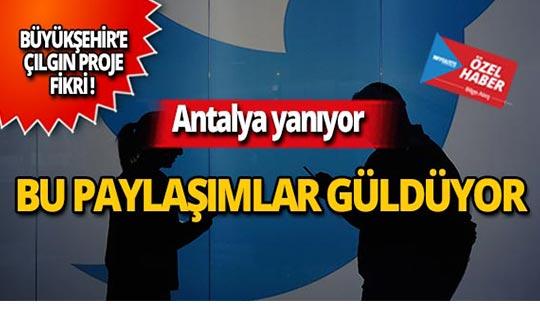 Antalya'da sıcaklarla ilgili güldüren paylaşımlar!