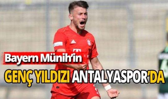 Antalyaspor'a Bayern Münih'ten genç sağbek