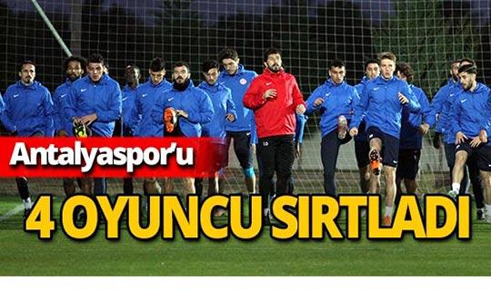 Antalyaspor'da gollerin yükünü 4 futbolcu çekti!
