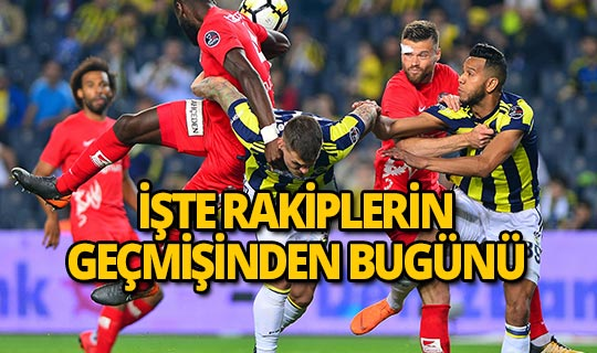 Antalyaspor ile Fenerbahçe 45. randevuda