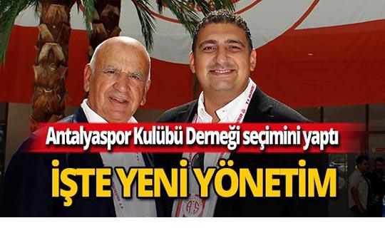 Antalyaspor Kulübü Derneği seçimini yaptı!