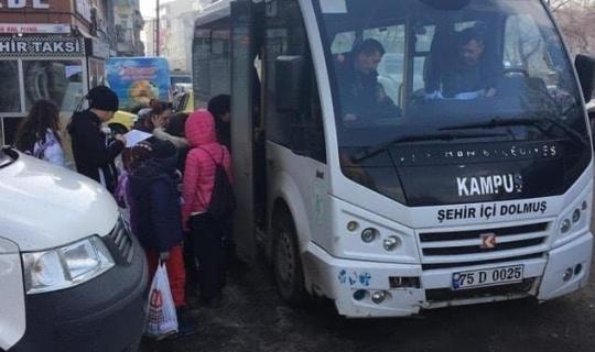 Ardahan Belediyesi'nden kayak severlere ücretsiz ulaşım