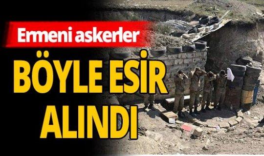 Azerbaycan Ordusu Ermeni askerleri esir aldı