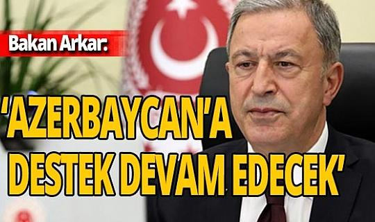 """Bakan Akar: """"Ne PKK/YPG Kürtleri, ne de DEAŞ İslam'ı temsil ediyor"""""""