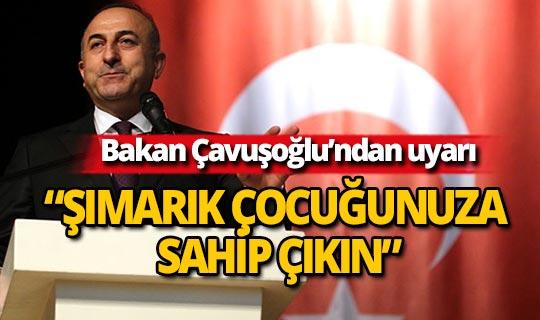Bakan Çavuşoğlu'ndan Yunanistan'a uyarı