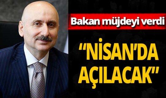 Bakan Karaismailoğlu metronun açılışını duyurdu!