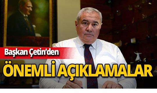 Başkan Çetin'den müze açıklaması!