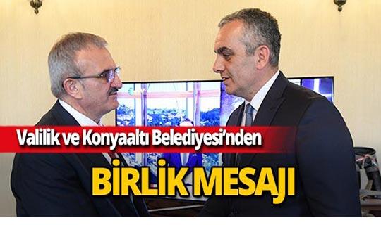 Başkan Esen, Vali Karaloğlu'nu ziyaret etti