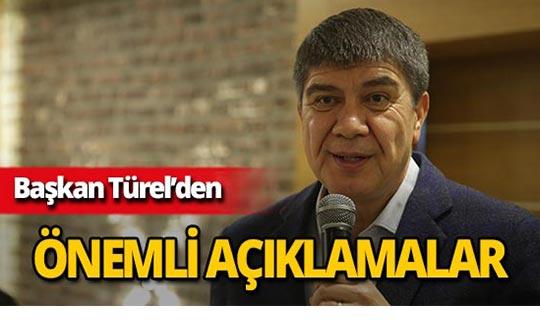 """Başkan Türel: """"Antalya'da sel görüntüleri tarih oldu"""""""