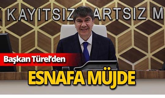 Başkan Türel'den 3. Etap Raylı Sistem güzergahındaki esnafa vergi müjdesi!