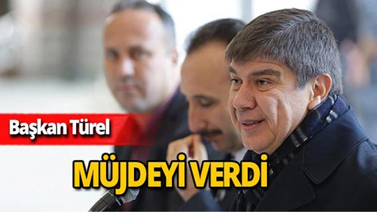 Başkan Türel'den çarşı esnafına müjde!