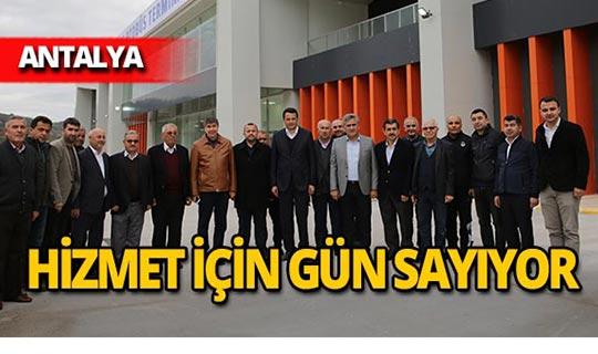 Başkan Türel, Kaş-Demre Mezbahası ile Kaş Terminali'ni inceledi
