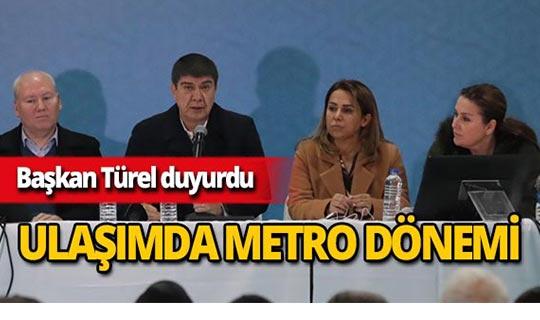 Başkan Türel projelerini anlattı