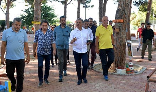 Başkan Uysal, Engelsiz Kafe için talimat verdi
