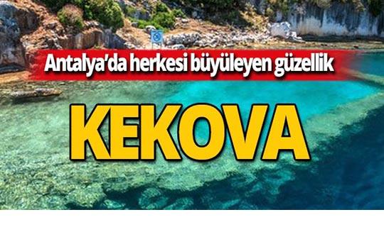 Batık uygarlık Kekova'ya nasıl gidilir?