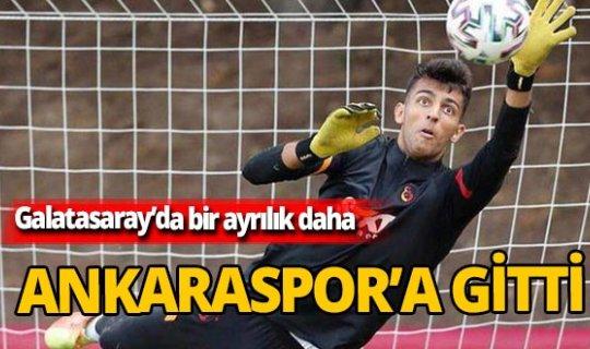 Berk Balaban Ankaraspor'a gitti