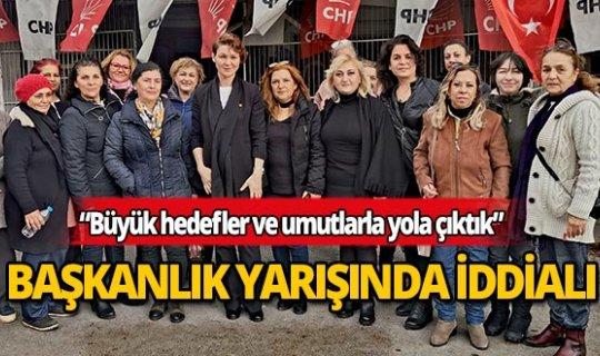 Berrin Öner Akdağ başkanlık yarışında iddialı!