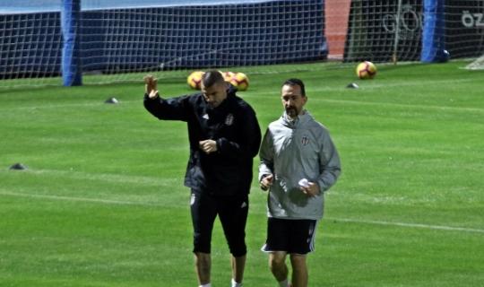 Beşiktaş, bir eksikle hazırlıklarını sürdürdü
