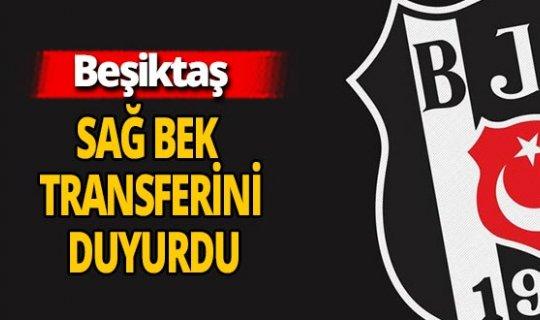 Beşiktaş'tan sağ beke transfer