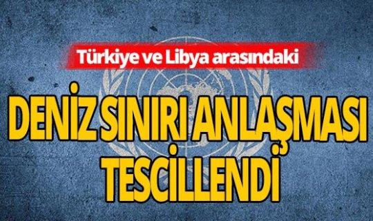 SON DAKİKA! BM, Türkiye'nin deniz sınırı anlaşmasını onayladı