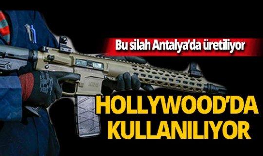 Bu silah Antalya'da üretiliyor, Hollywood filmlerinde kullanılıyor