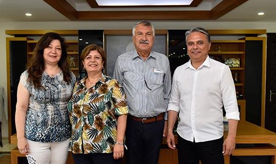 Büyükşehir Belediye Başkanı Karalar'dan Başkan Uysal'a ziyaret