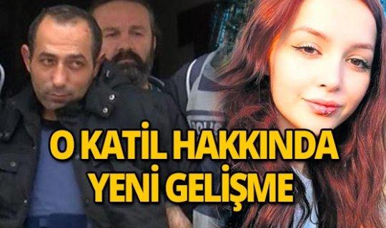 Ceren Özdemir'in katiliyle ilgili yeni gelişme