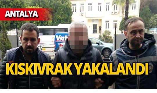 Cezaevi firarisi Antalya'da yakalandı!