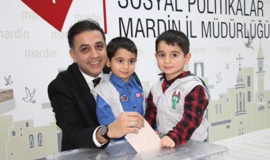 Çocuk evinde demokratik seçim