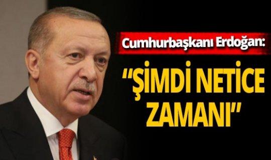 """Cumhurbaşkanı Erdoğan: """"Çıtayı sürekli yukarı taşıyoruz"""""""