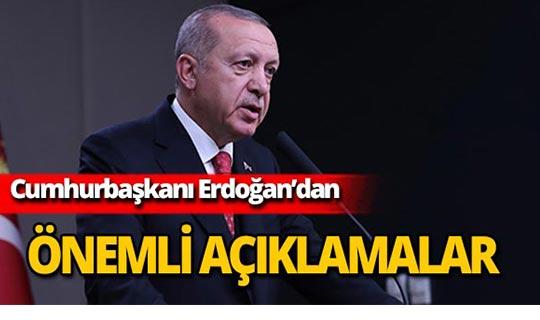 """Cumhurbaşkanı Erdoğan: """"Çukurları onlara mezar edeceğiz"""""""