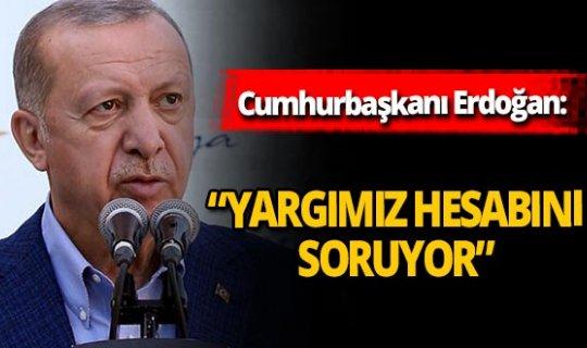 """Cumhurbaşkanı Erdoğan: """"Seferberlik duygusuyla hareket etmeliyiz"""""""